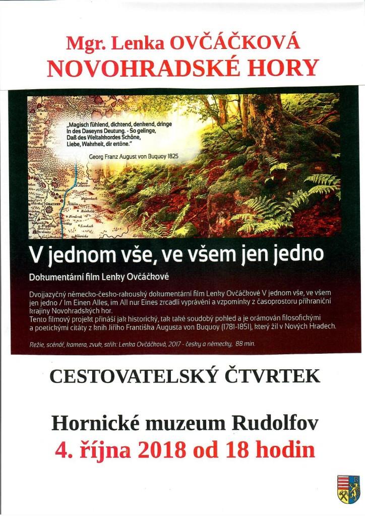 NOVOHRADSKÉ HORY - CESTOVATELSKÝ ČTVRTEK 4.10.2018